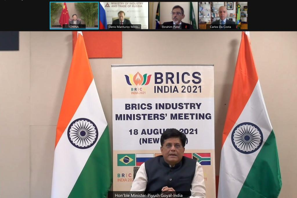 In the 5th Meeting of BRICS Industry Ministers