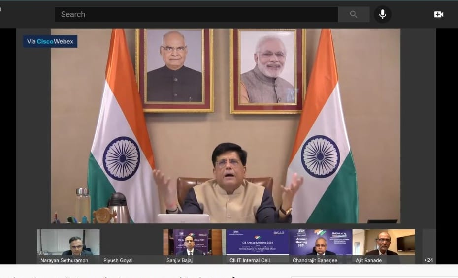 India@75 is a declaration for a new India with new dreams, new energy and new commitment: Shri Piyush Goyal